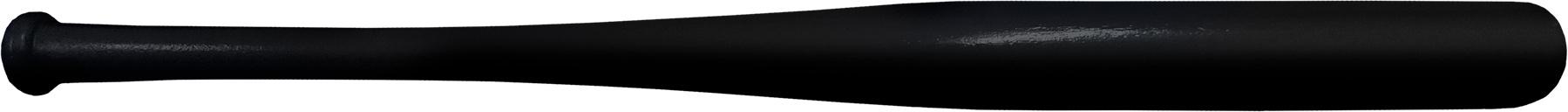 novelty black baseball bat souvenir baseball bat