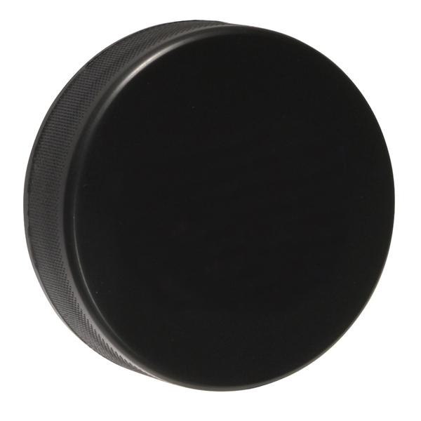 Regulation Size Soft Hockey Puck Black Hockey Pucks