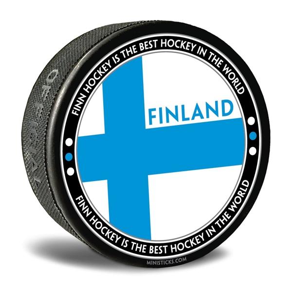 World Junior Hockey Collector Puck Custom Official Hockey