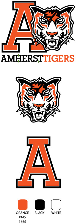 amherst tigers logo