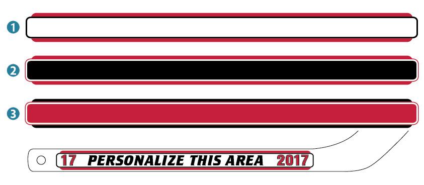 Nhl Colors New Jersey Devils Personalized Mini Hockey Stick