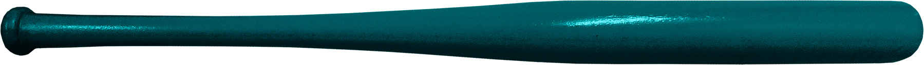 novelty teal baseball bat souvenir baseball bat
