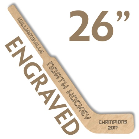 custom engraved mini hockey stick small goalie stick