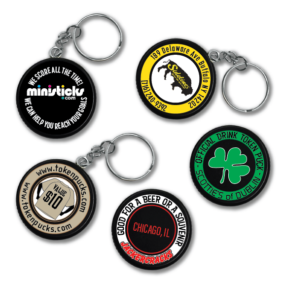 hockey puck tokens tokenpucks for restaurants and bars