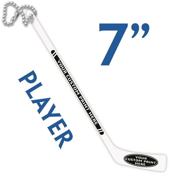 Small Player Stick Hockey Party Favor Hockey Swizzle Stick