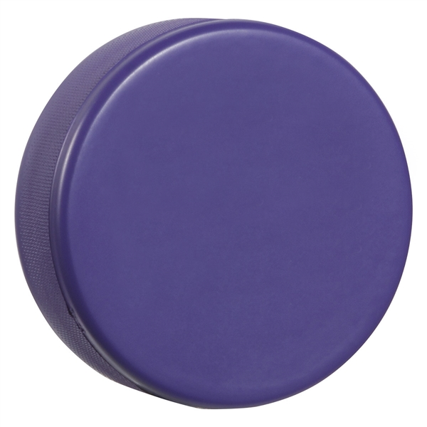 Regulation Size Soft Foam Hockey Puck Purple Hockey Pucks