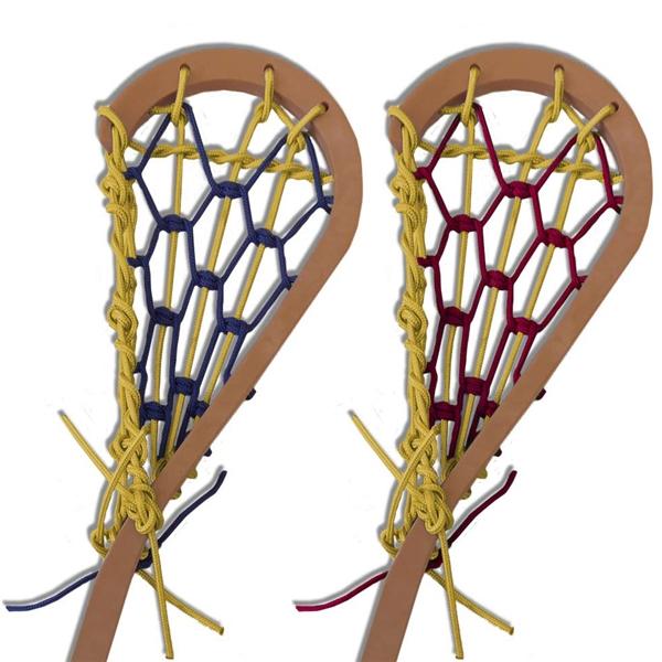 Lacrosse Stick Old Gold Wall Thongs Minilacrosse Com