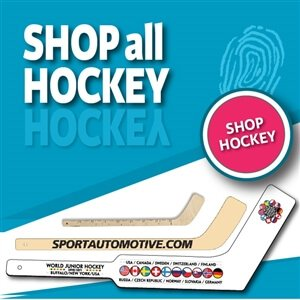 Custom printed wood mini hockey sticks and plastic mini hockey sticks are also called ministixx. We have engraved mini hockey sticks, printed mini hockey sticks, mini hockey stick key chains,personalized hockey awards and hockey tape.