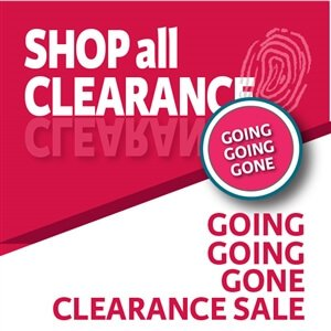 Clearance merchandise. Let's get this out of here.